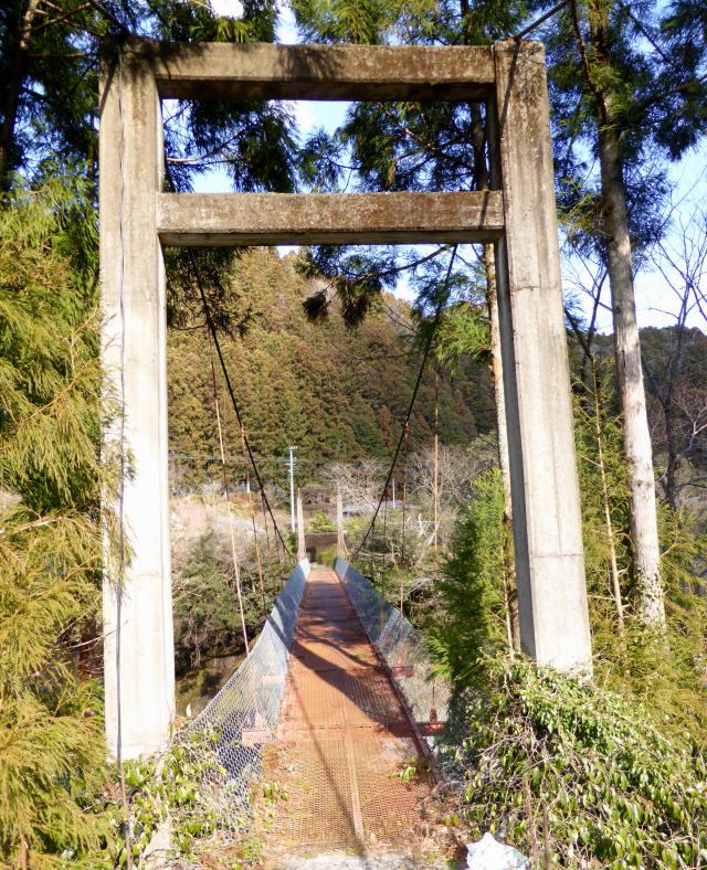 菖蒲野の吊橋6