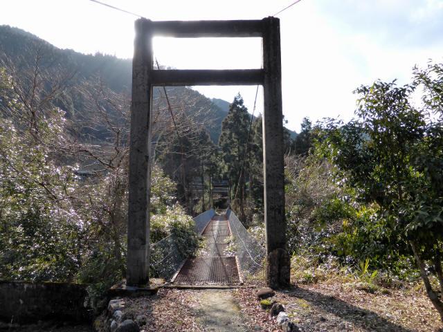 菖蒲野の吊橋8
