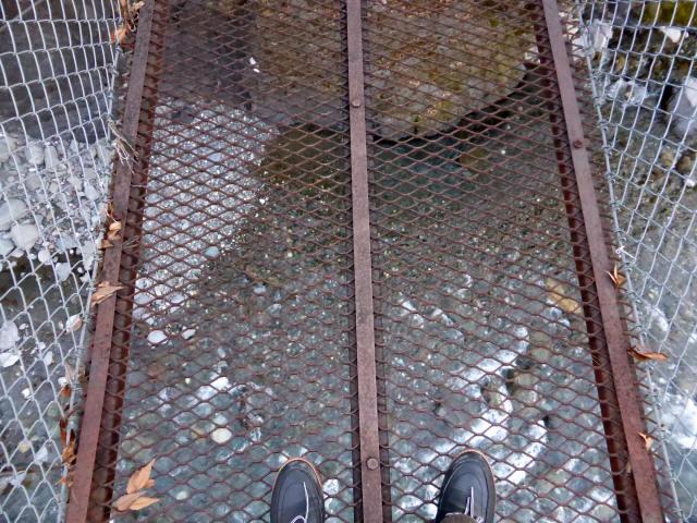 下モ番の吊橋5