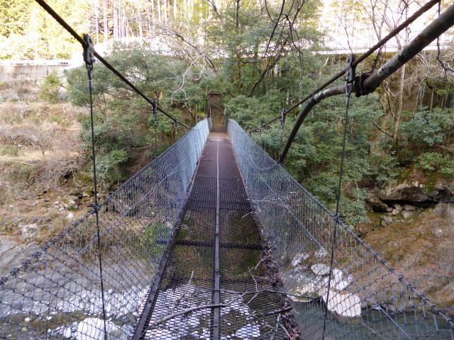 下モ番の吊橋6