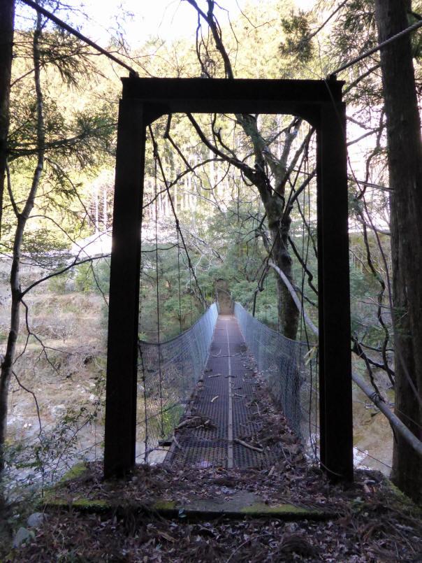 下モ番の吊橋8