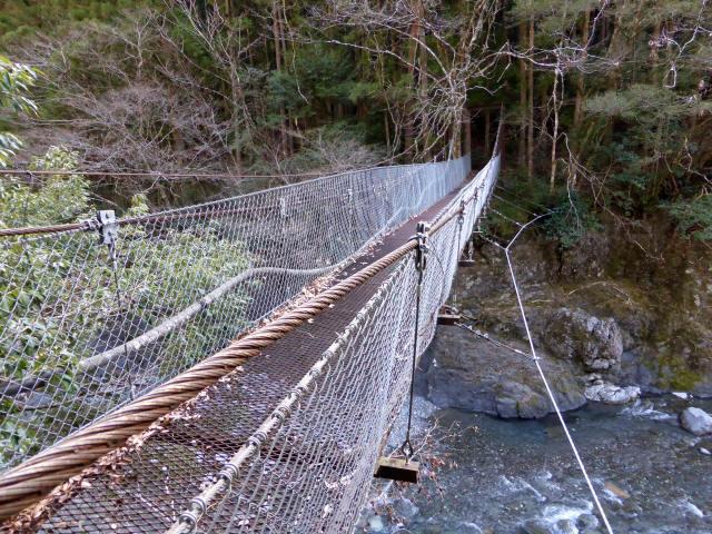下モ番の吊橋0