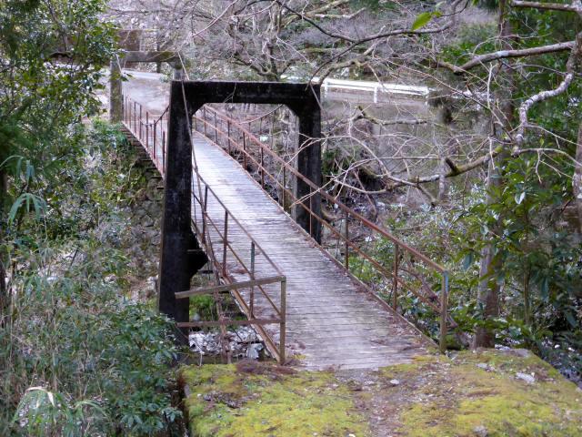 請ノ谷の吊橋1