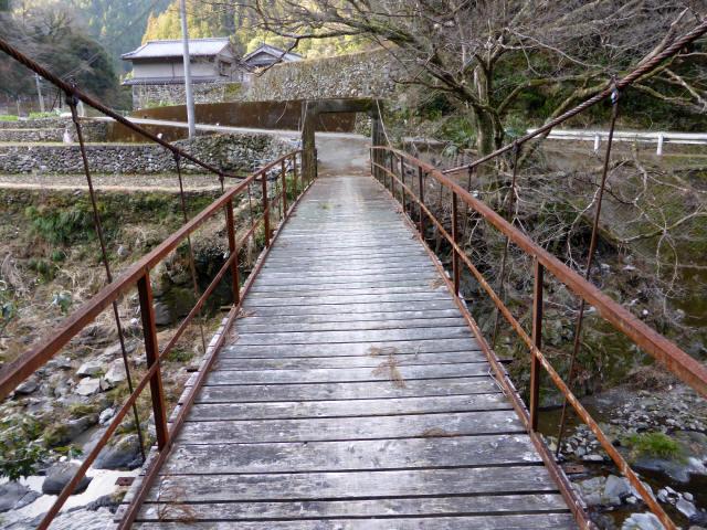 請ノ谷の吊橋3