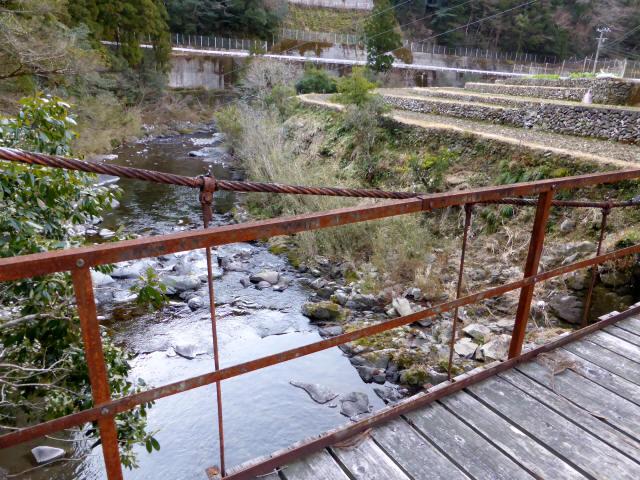 請ノ谷の吊橋4