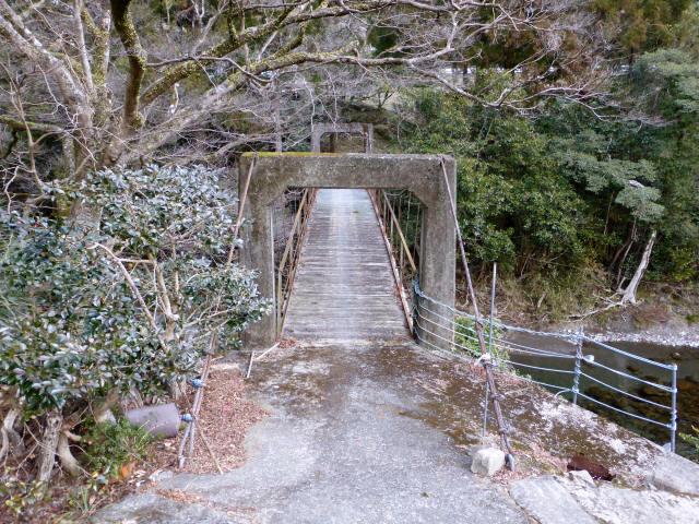請ノ谷の吊橋5
