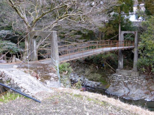 請ノ谷の吊橋6