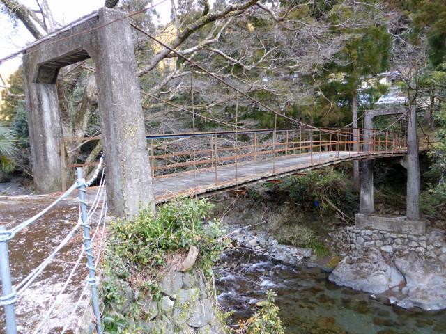 請ノ谷の吊橋7