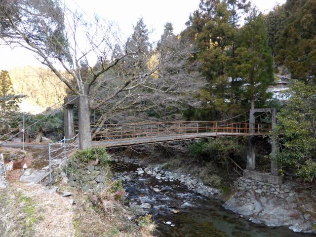 請ノ谷の吊橋8