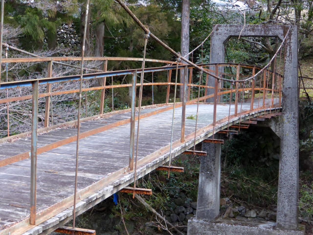 請ノ谷の吊橋9