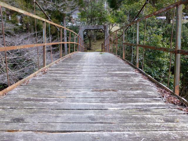 請ノ谷の吊橋0