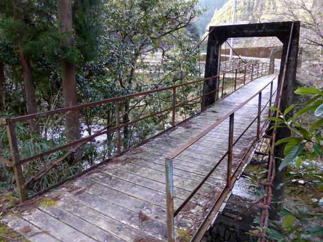 請ノ谷の吊橋a