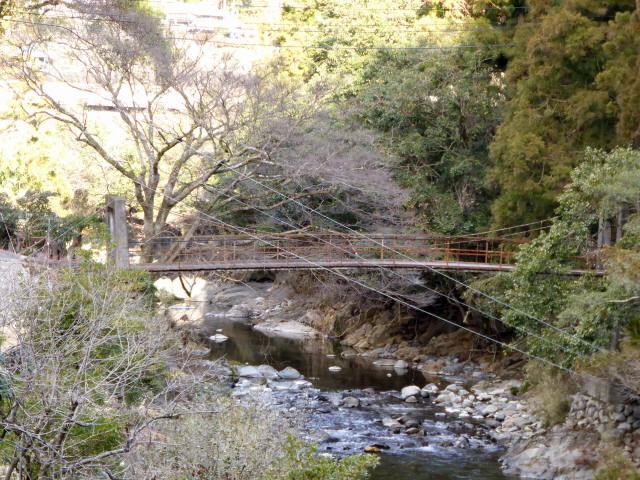 請ノ谷の吊橋c