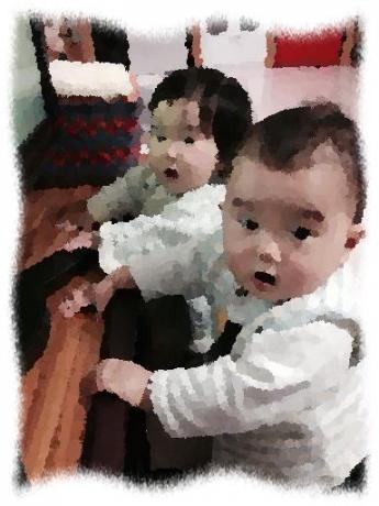 2015年2月13日Tさん双子