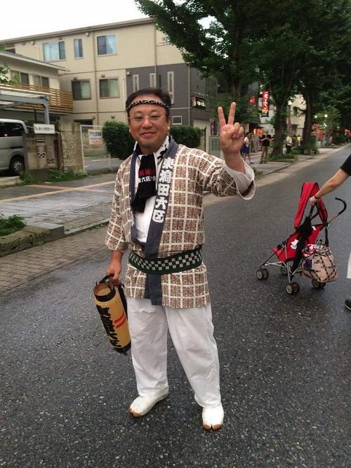 <天王祭>東塙田六区へ!①