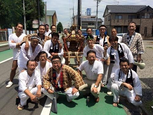 <天王祭>東塙田六区へ!④