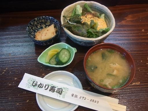小鉢・漬物・サラダ・味噌汁