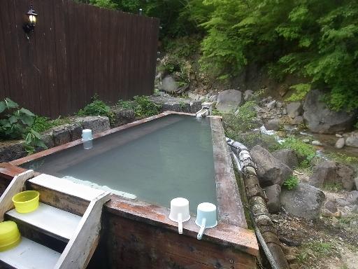 混浴桧風呂