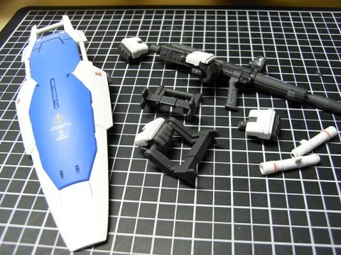 GP01 武装、完成