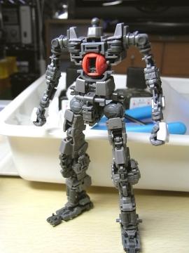 Mk-Ⅱ(白)フレームパチ完了1