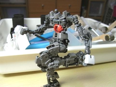 Mk-Ⅱ(白)フレームパチ完了2