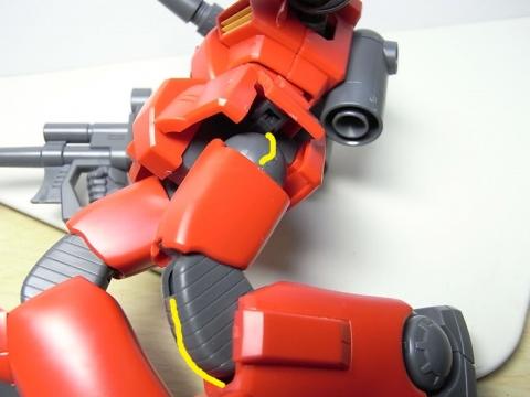 ガンキャノン(REVIVE)合わせ目3