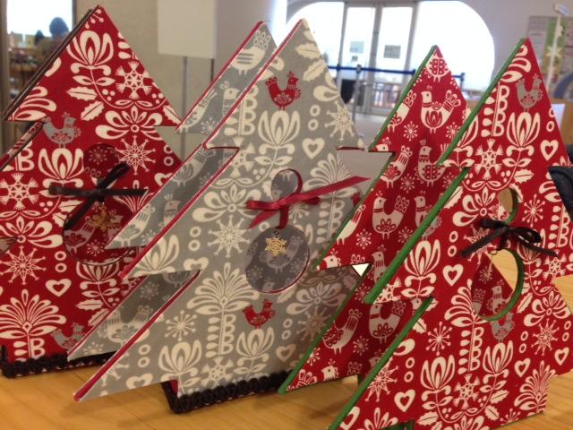 クリスマスホルダー三色