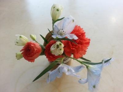 十二月の生け花①