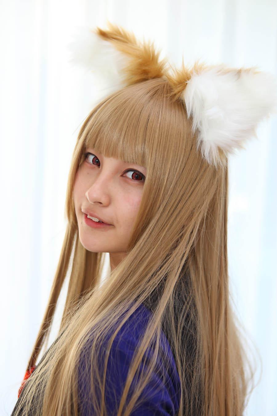 【山崎小梅さん】狼と香辛料 ホロ