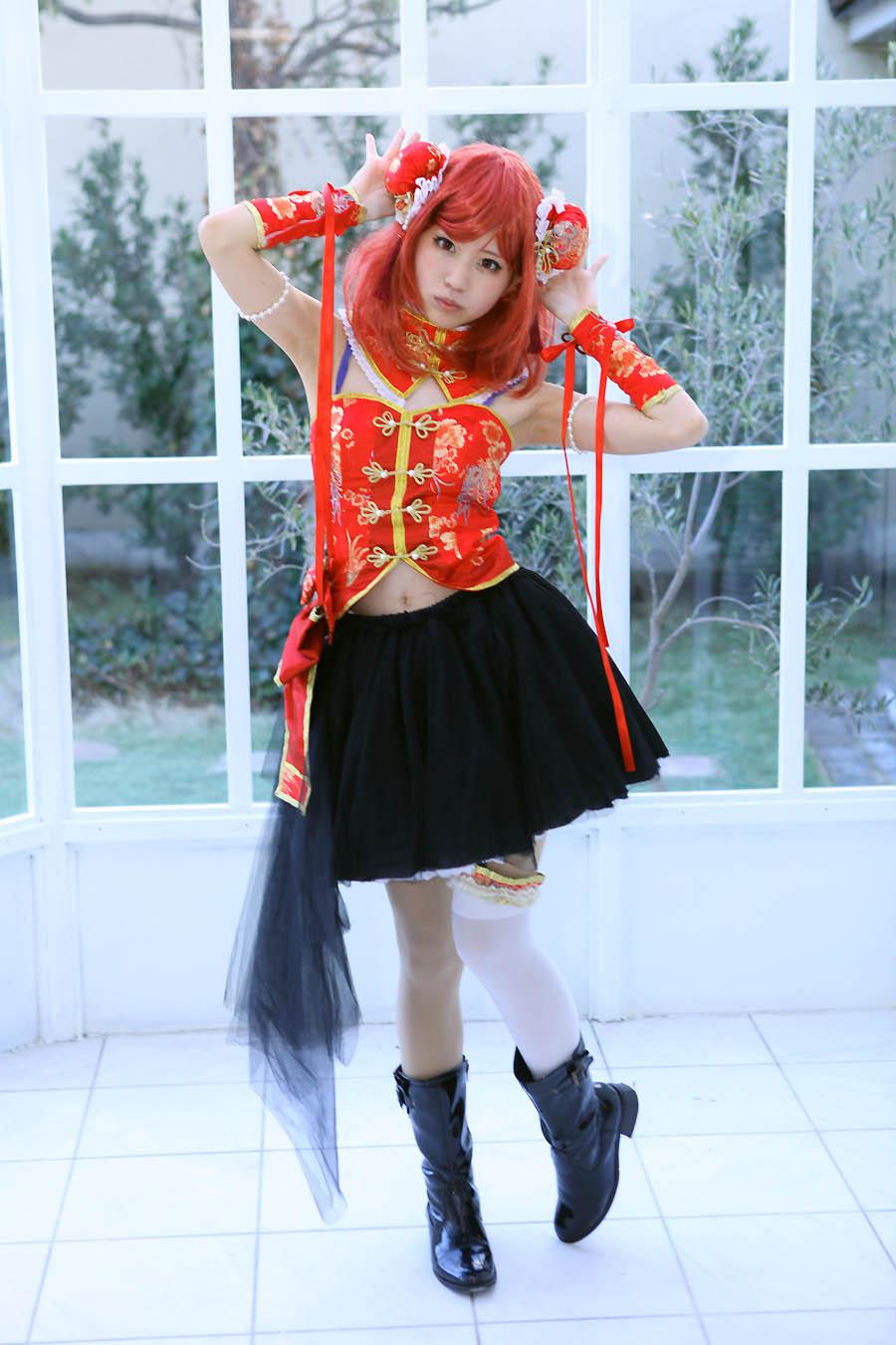 【トノコさん】ラブライブ 西木野真姫SR覚醒 チャイナドレス