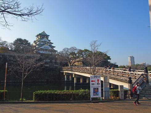 大阪城2014-5