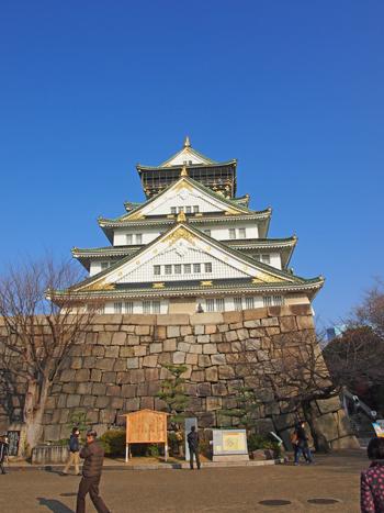 大阪城2014-8