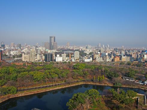 大阪城2014-10