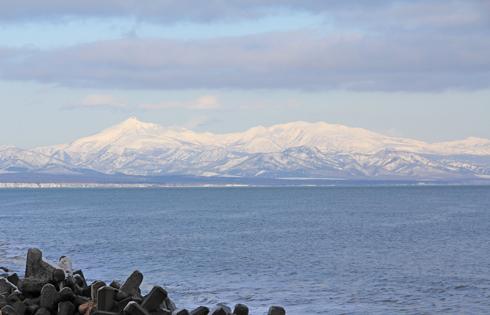 冬の知床連山2014-1
