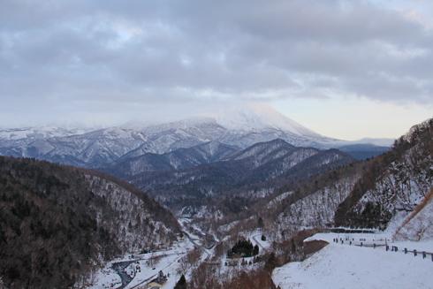 冬の知床連山2014-3