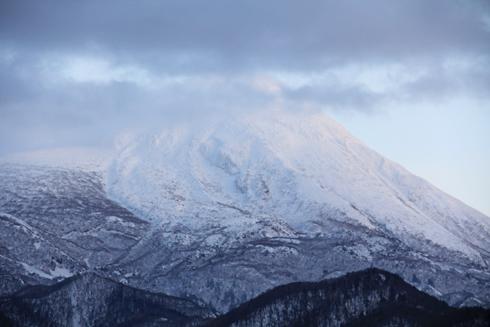 冬の知床連山2014-4