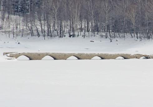 タウシュベツ橋梁-7