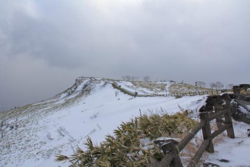 冬の屈斜路湖と美幌峠-2
