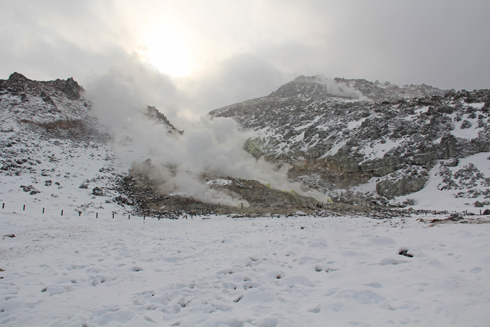 硫黄山と自然硫黄-3