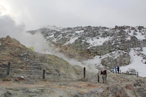 硫黄山と自然硫黄-6