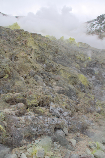 硫黄山と自然硫黄-8