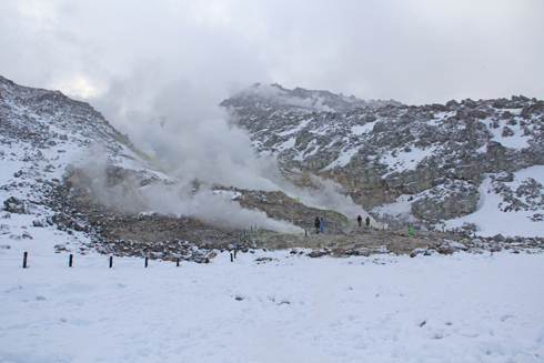 硫黄山と自然硫黄-12