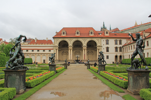 ヴァルトシュテイン宮殿2015-12