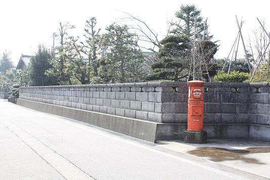 下伏間江バス停南