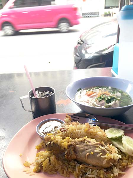 トンロー カオモック屋台_バンコク_タイ料理05