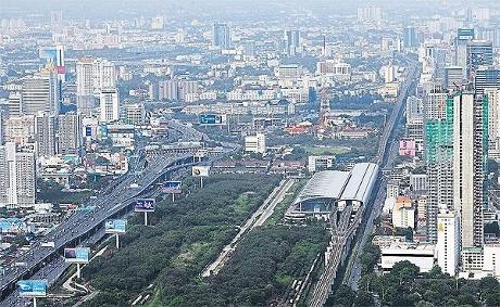 バンコクのマッカサン再開発計画画像