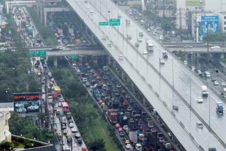 タイのバンコクエキスプレスウェイ画像