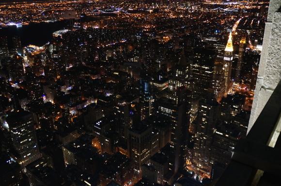 NYの夜景
