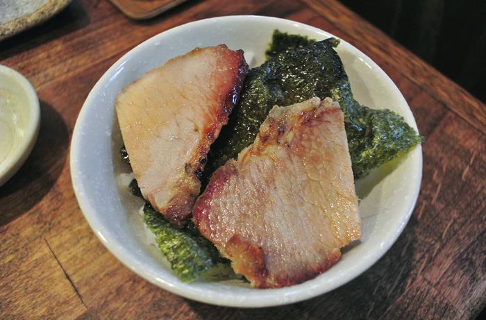 麺屋くろまる@真岡市並木町 Andy特製チャーシュー丼