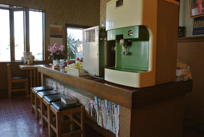 さかい食堂@上三川町上三川 店内1